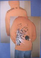 Drum n Bass Hoodie by 3FF3CT