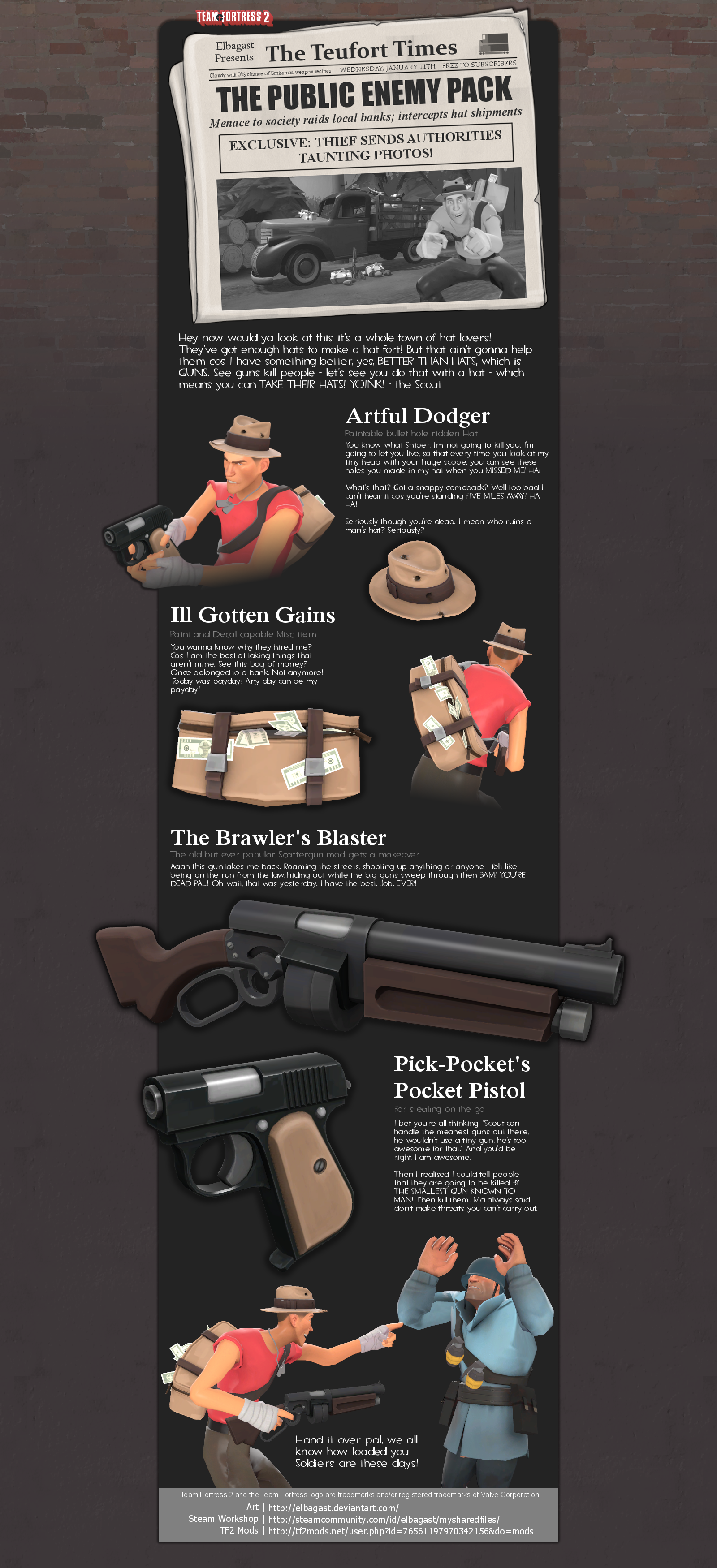 The Public Enemy Pack by Elbagast