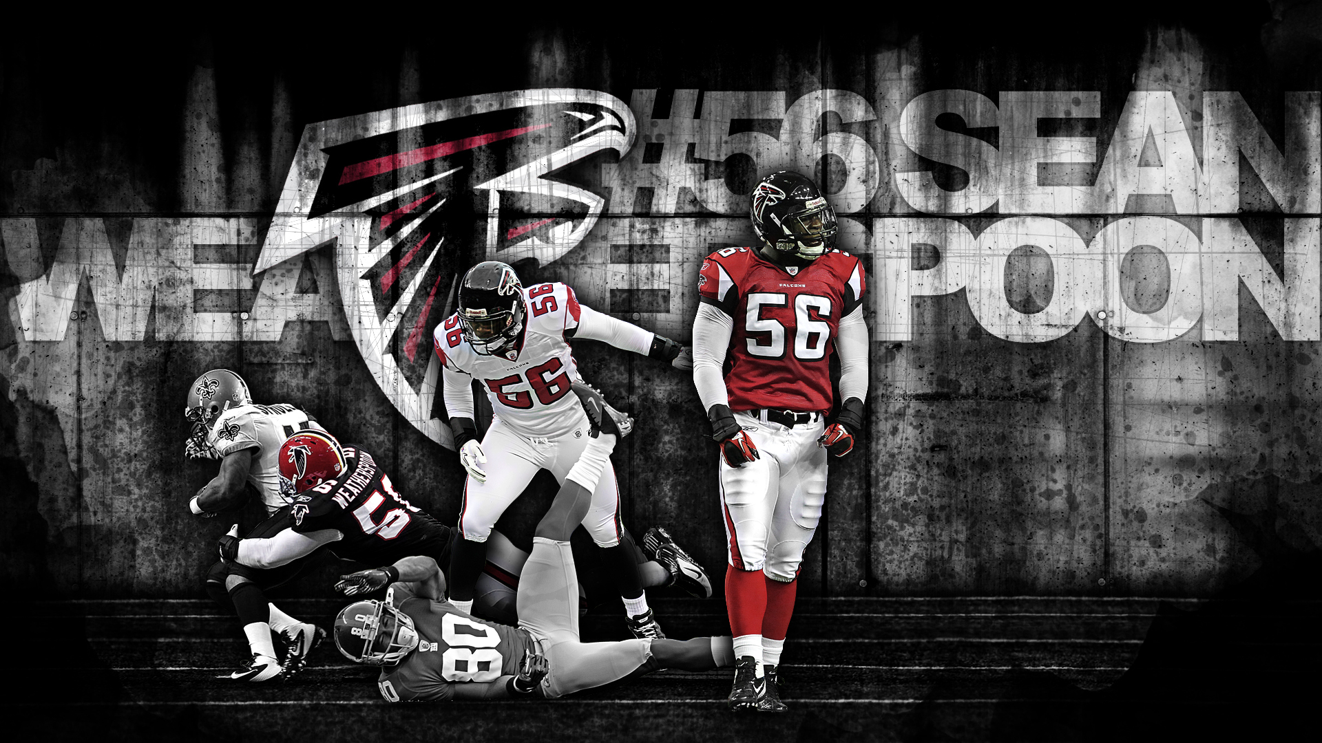 Atlanta Falcon Wallpapers Group 60: Sean Weatherspoon By Crebagger On DeviantArt