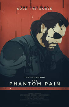MGS V: The Phantom Pain [Poster]
