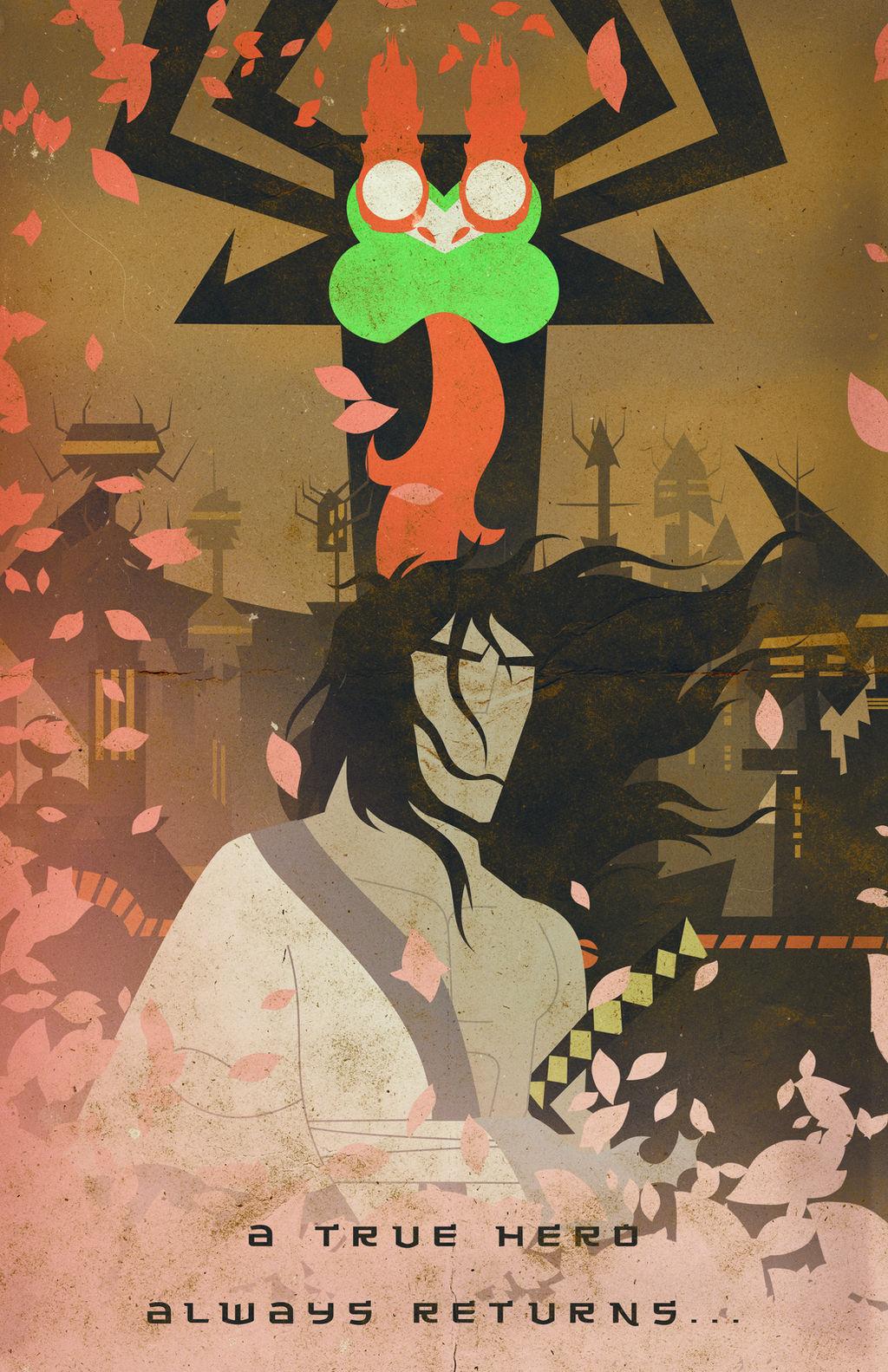 Samurai Jack [Poster] by PlushGiant