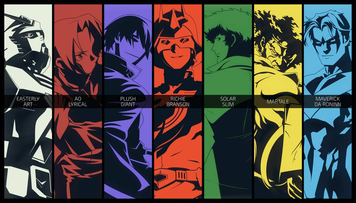 Otaku Gang Roster [Poster] by PlushGiant