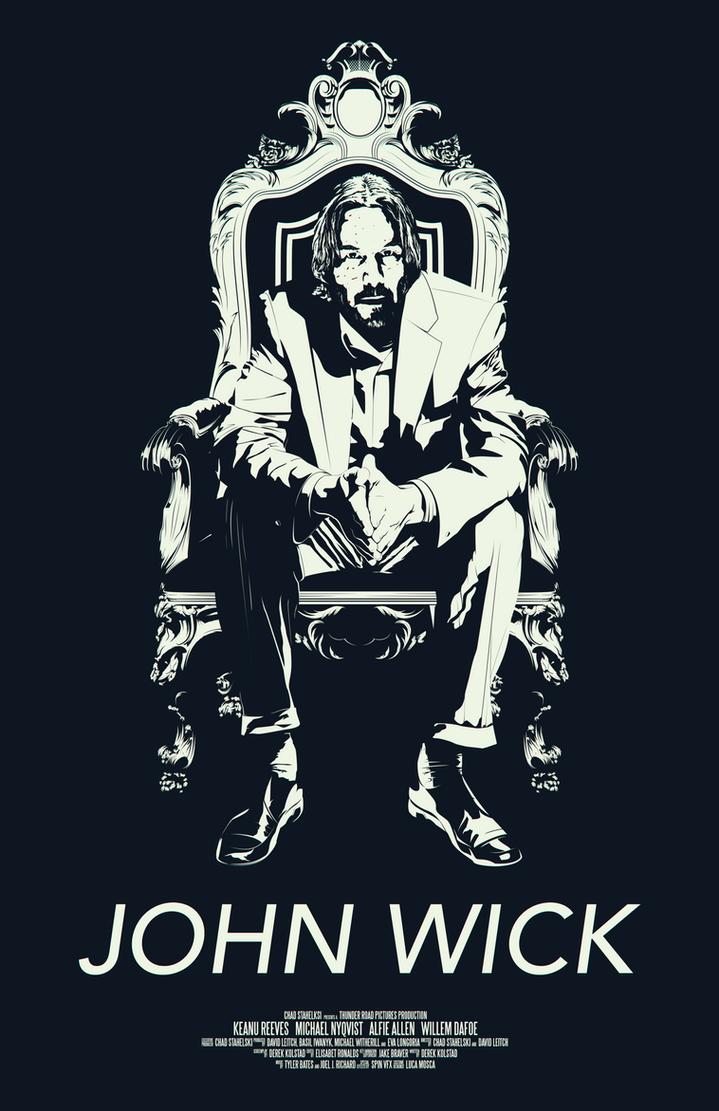 John Wick Poster By Plushgiant On Deviantart