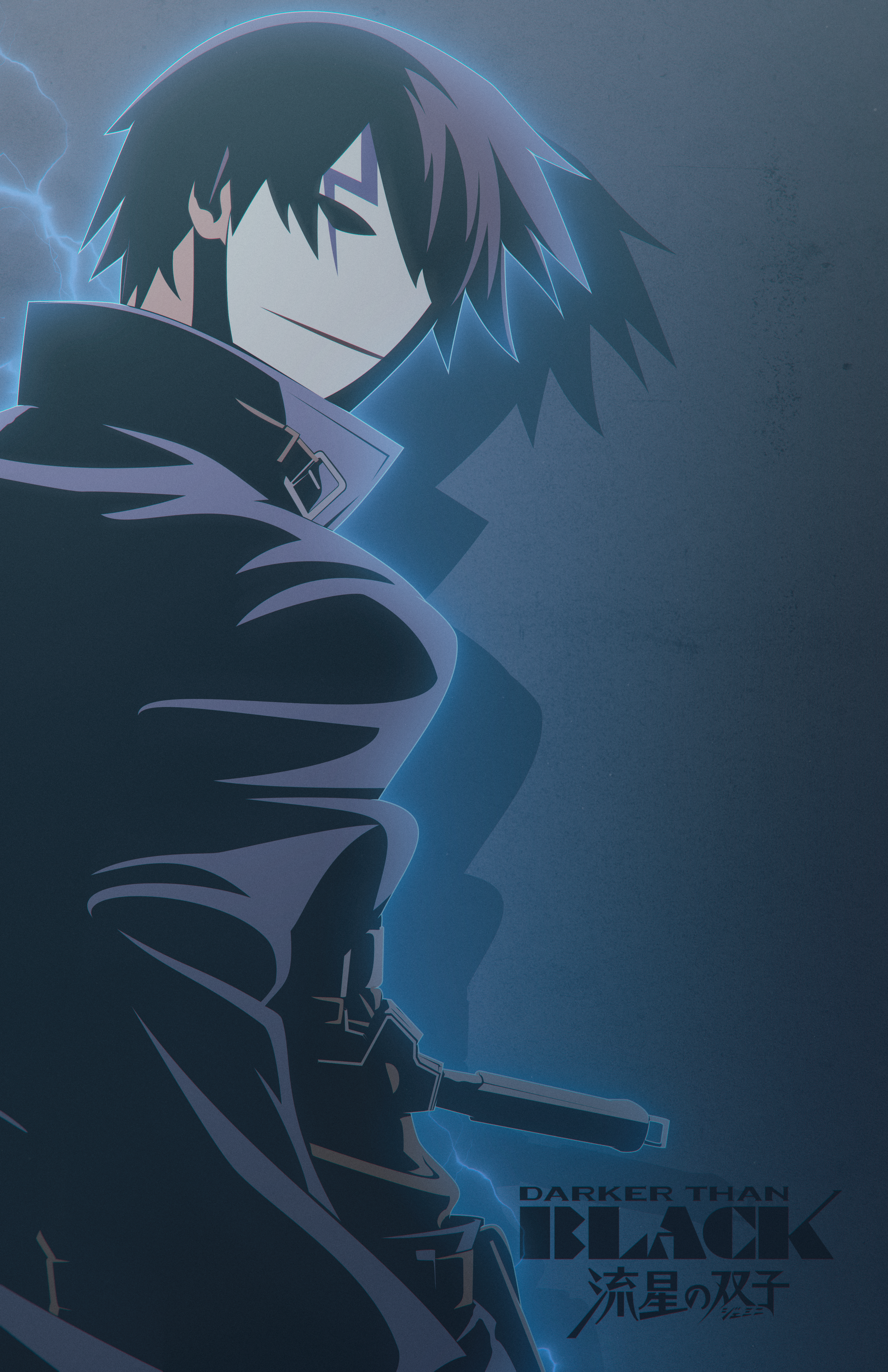 Hei | Darker Than Black [Poster] by PlushGiant