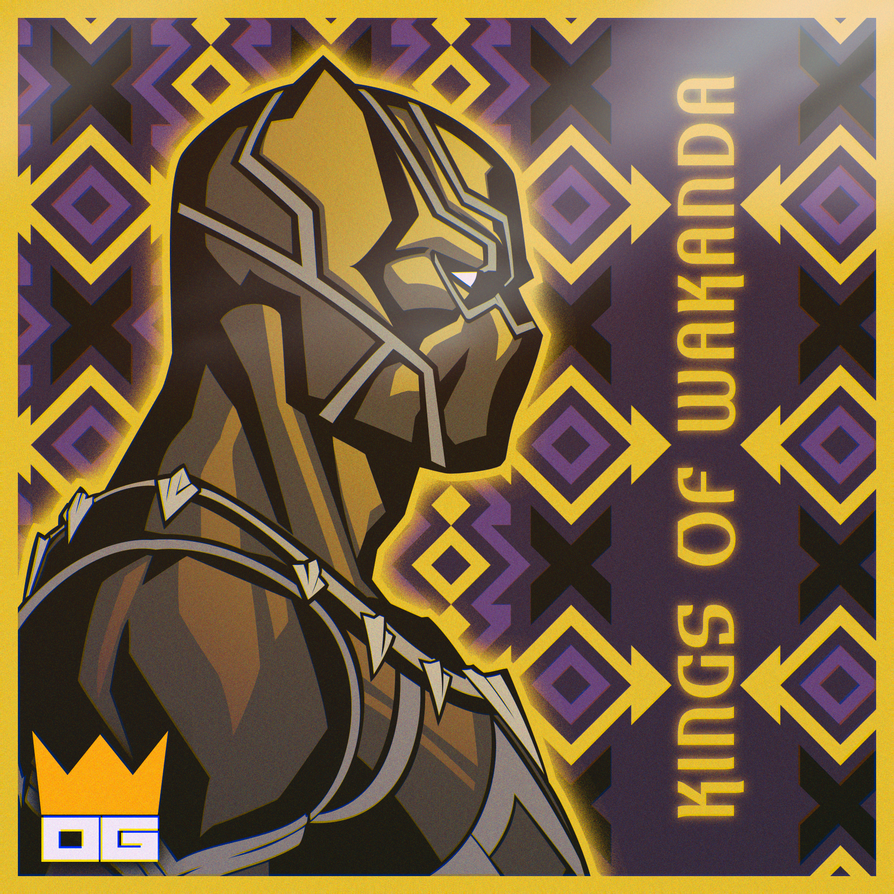 Kings of Wakanda [Album] by PlushGiant