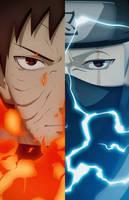 Obito - Kakashi | Naruto Shippuden by PlushGiant