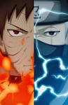 Obito - Kakashi | Naruto Shippuden
