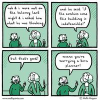 Rob's Zombie Plan by mellapants