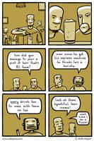Beer Barista by mellapants