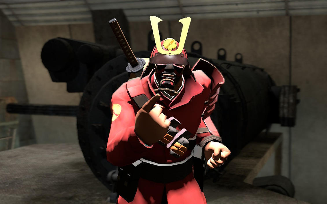 Made some posters of some items i think should be in be ...  |Tf2 Samurai Hat