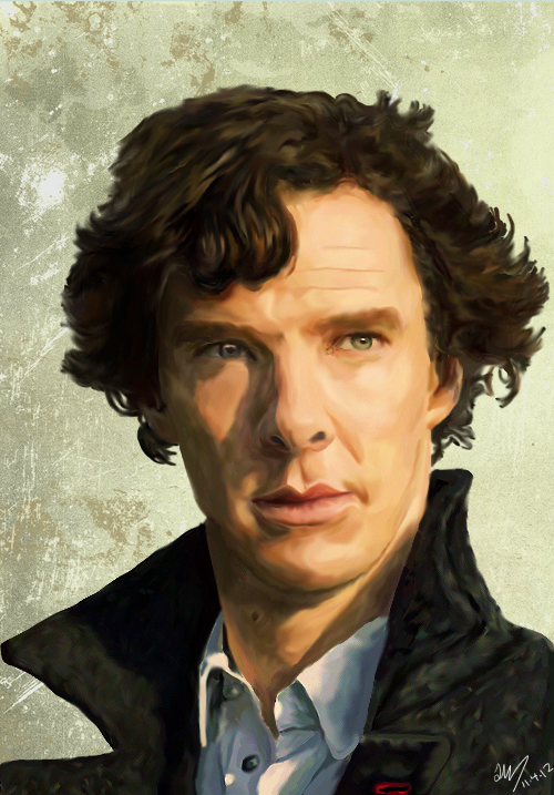 Sherlock Holmes by Heiddles