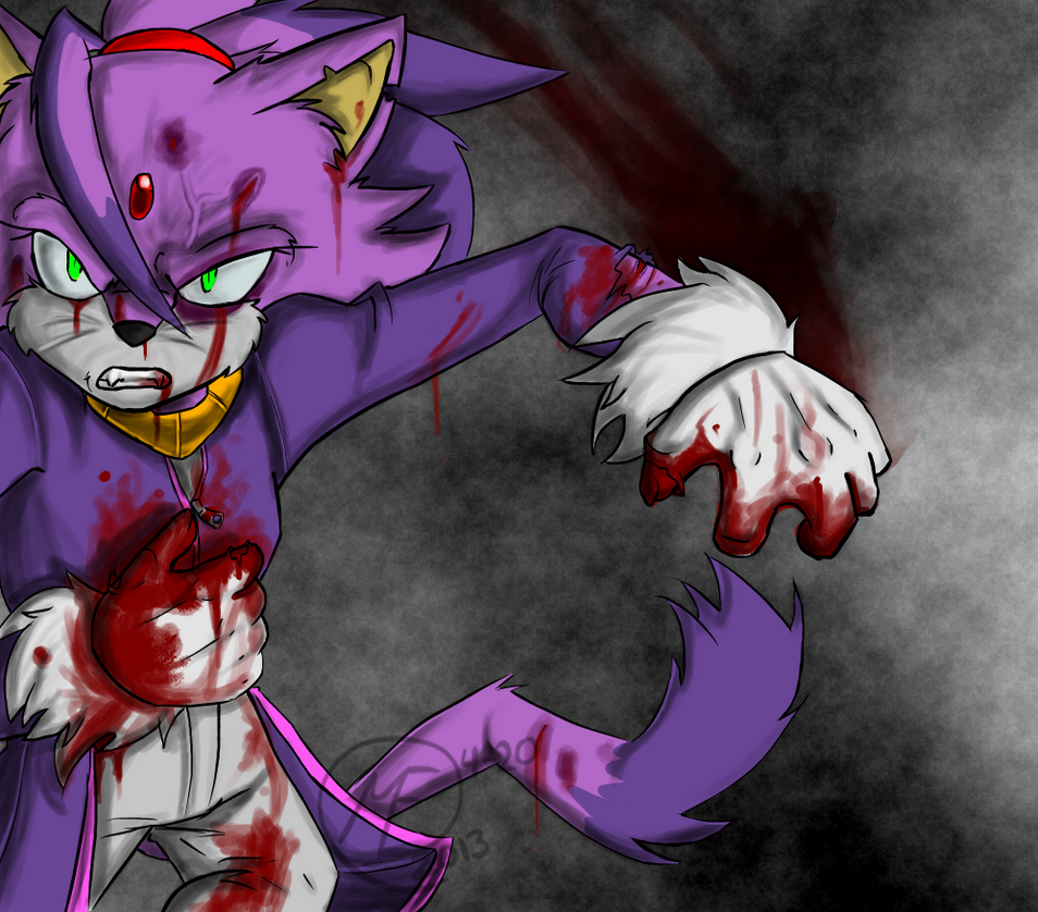 Blaze Wounded by MakTheHedge01 ...