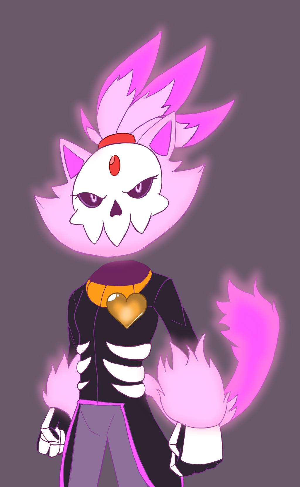 ... Mystery Skulls Ghost: Blaze by MakTheHedge01