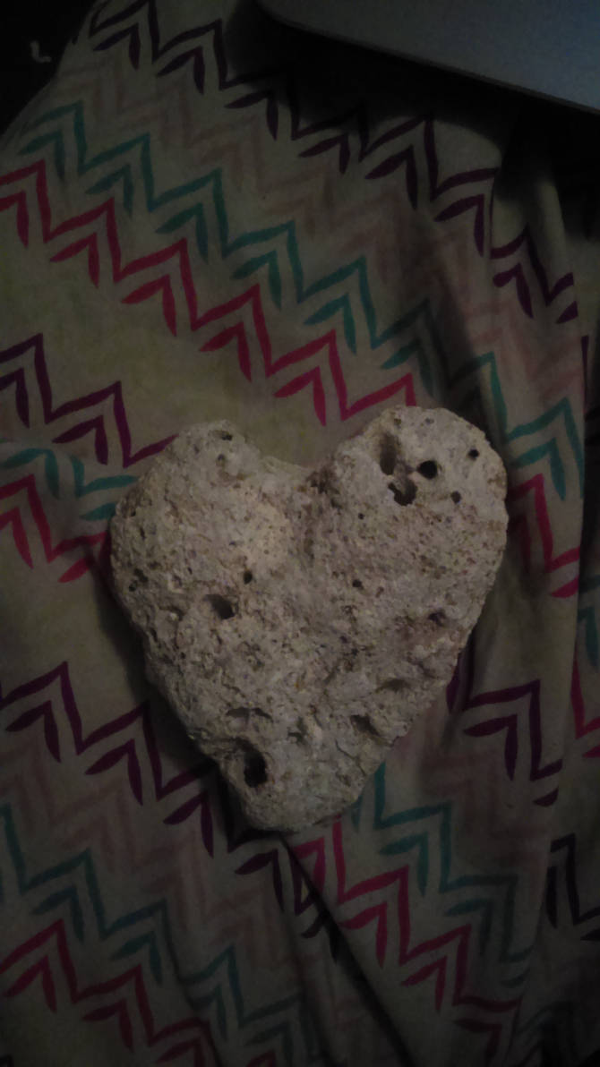 Coral Rock Heart by Megatron401