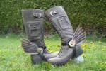 Hermes' Steampunk Bootwings