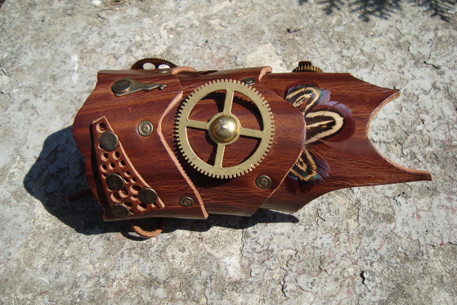 "Steampunk Handcuff ""Ranger"" by rain2shine"