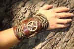 Steampunk handcuff pheasant