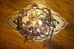 wrapped clockwork