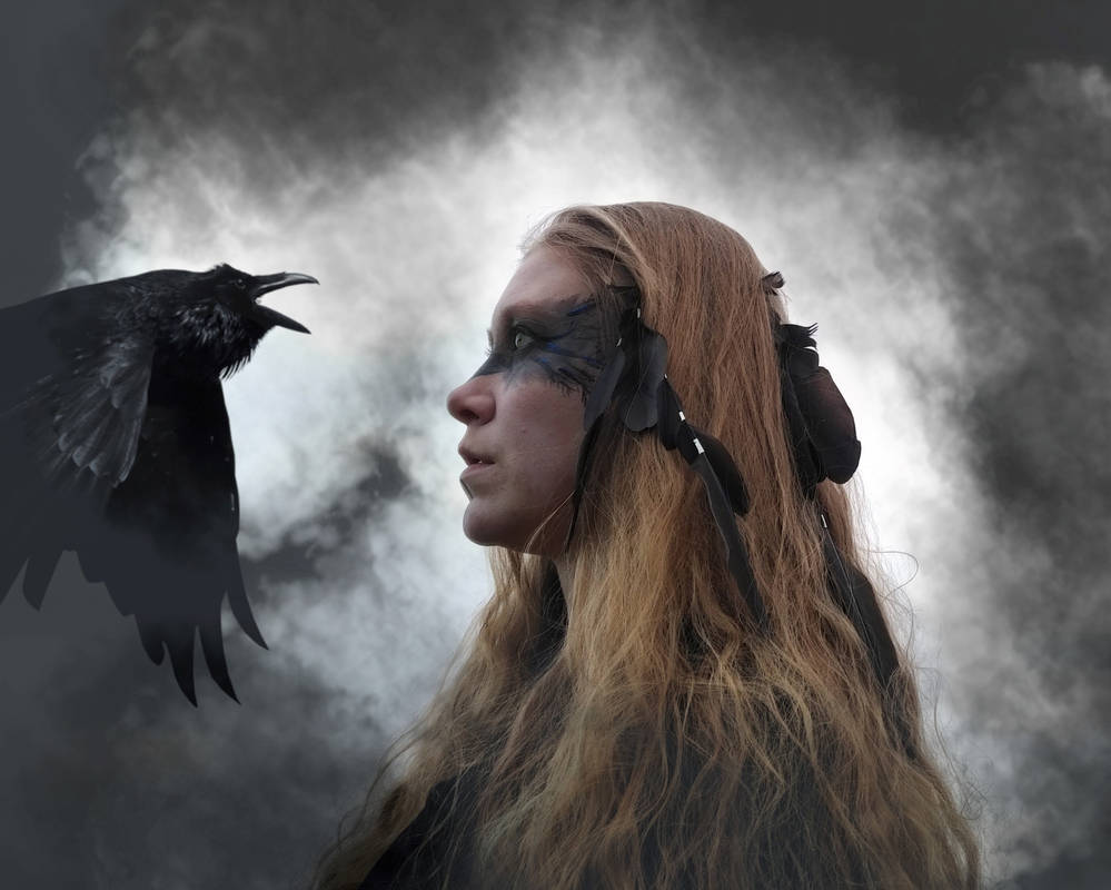 Crow Hair Extensions