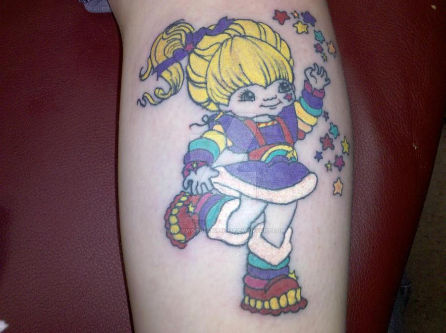Rainbow Bright Tattoo By Hollywood465599663 On Deviantart