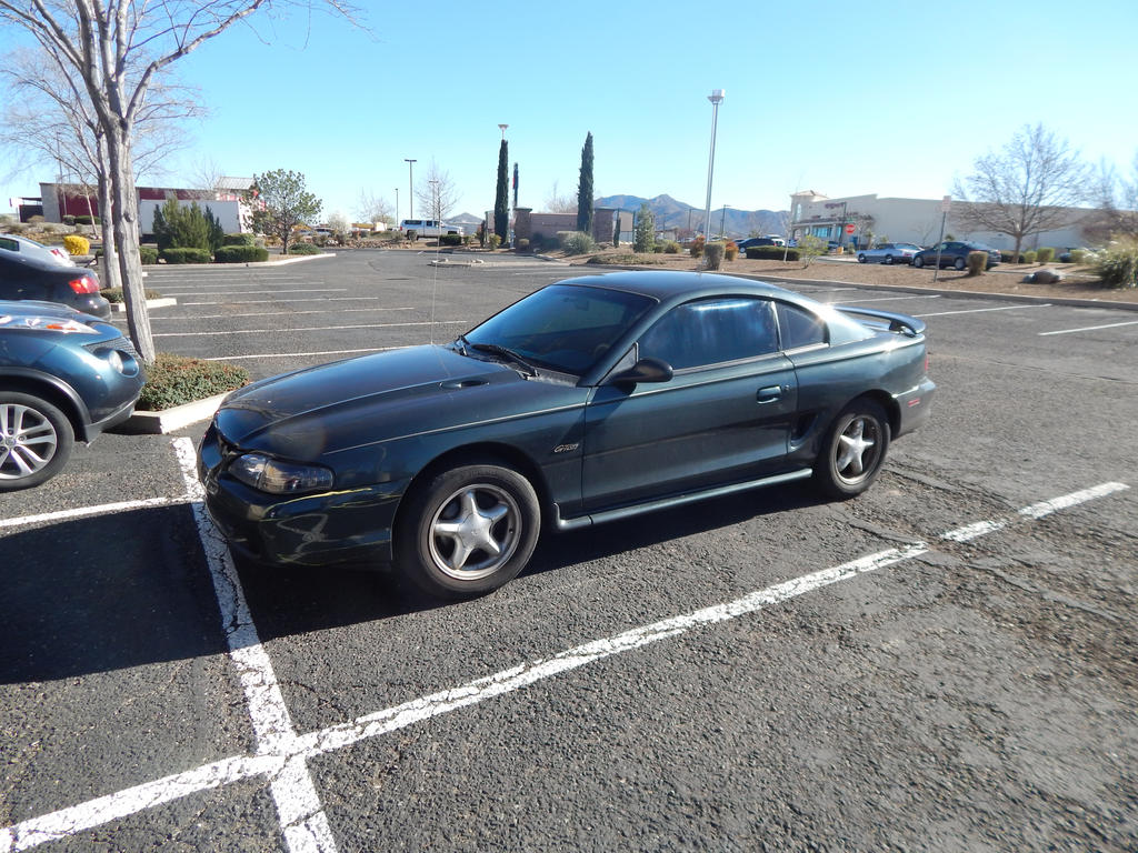 1998 Ford Mustang GT by CadillacBrony