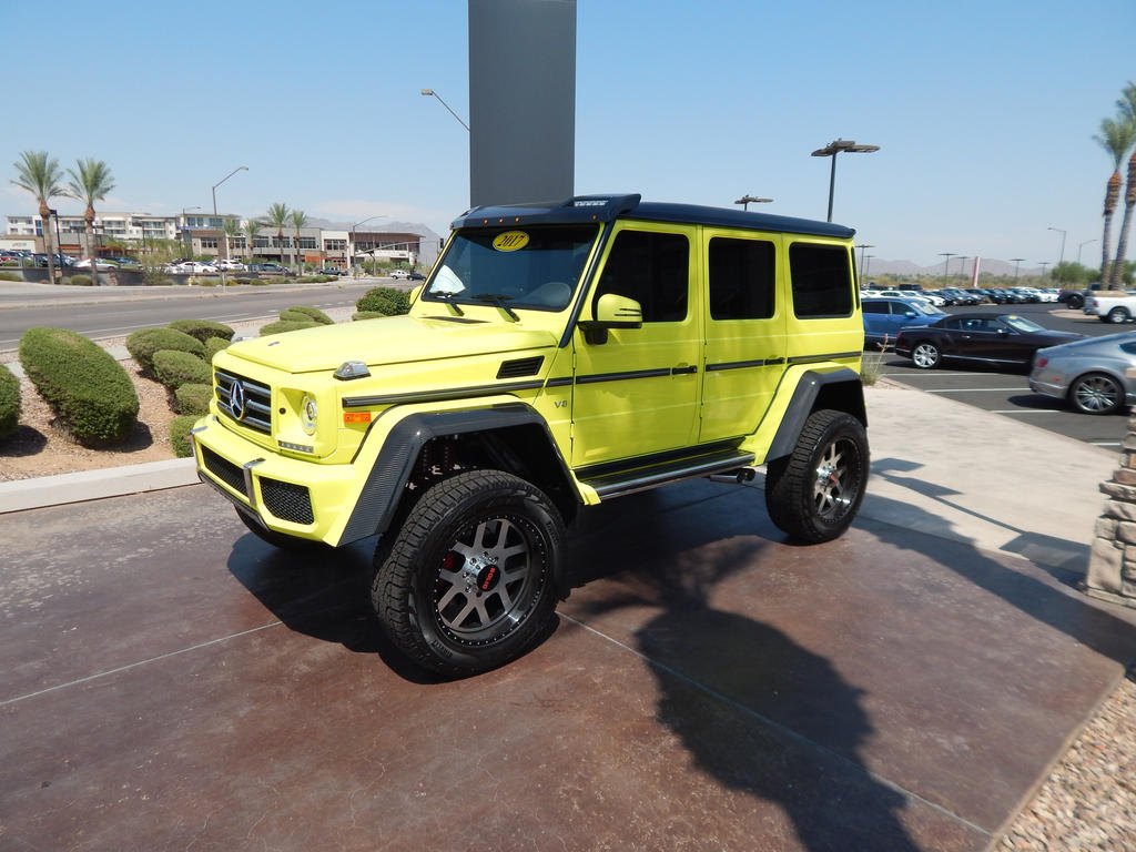 2017 mercedes benz g550 4x4squared wheel swapped by for 2017 mercedes benz g550