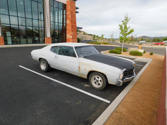 1972 Chevrolet Chevelle Coupe (Mild Custom) by LiebeLiveDeVille