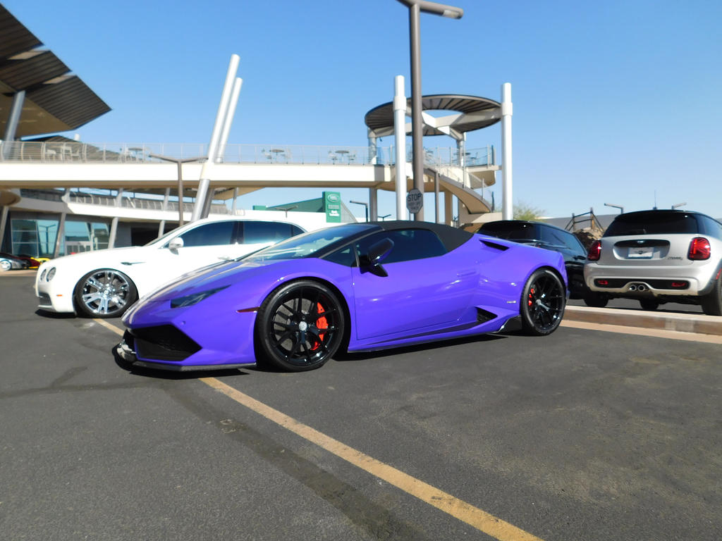 Purple Lamborghini Lurkin By Liebelivedeville On Deviantart