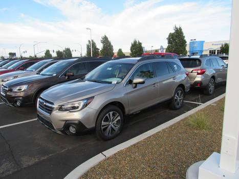 2019 Subaru Outback 2.5i Limited (BS)