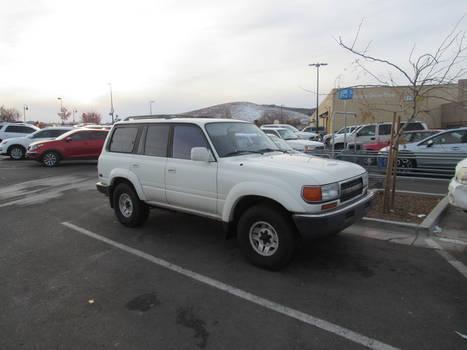 1992 Toyota Land Cruiser (J80)