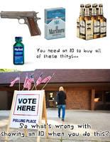Voter ID. It's Common Sense.