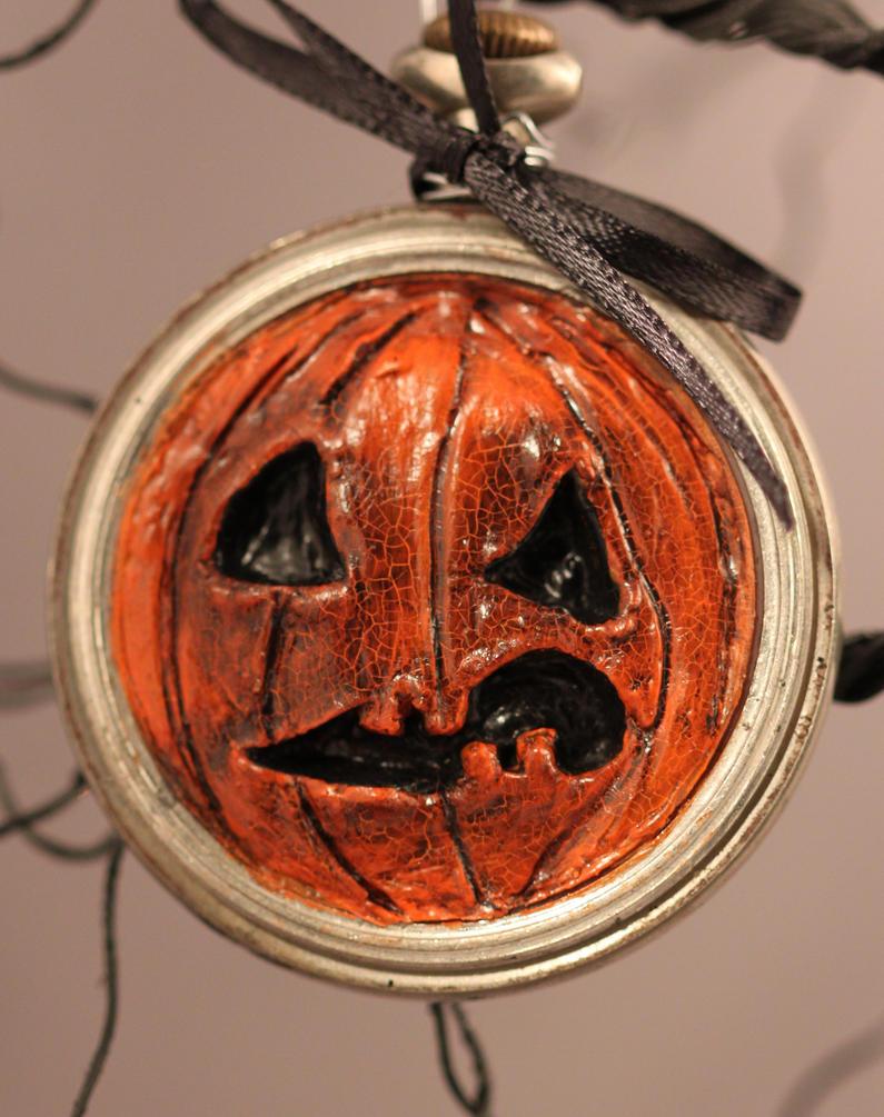 Halloween Ornie Nasty Punk II by LabyrinthCreations