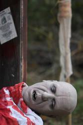 closeup of S. Todd's victim