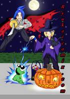 Happy Halloween From Seance! by RyuKais-Comix