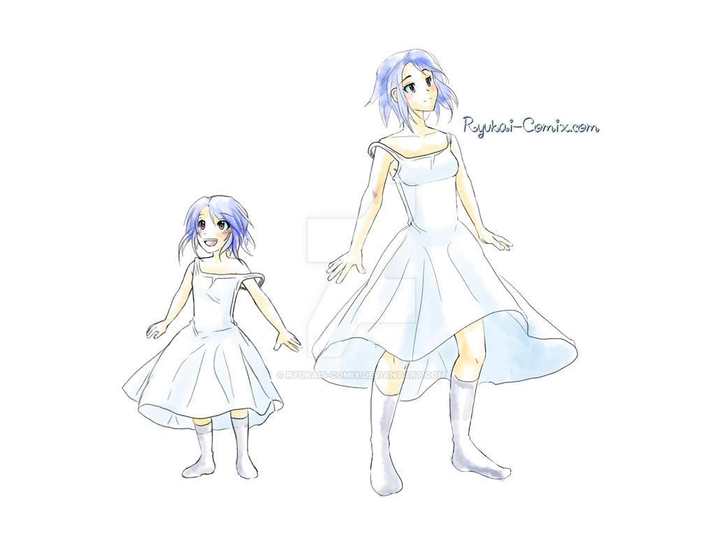 child to adult by RyuKais-Comix
