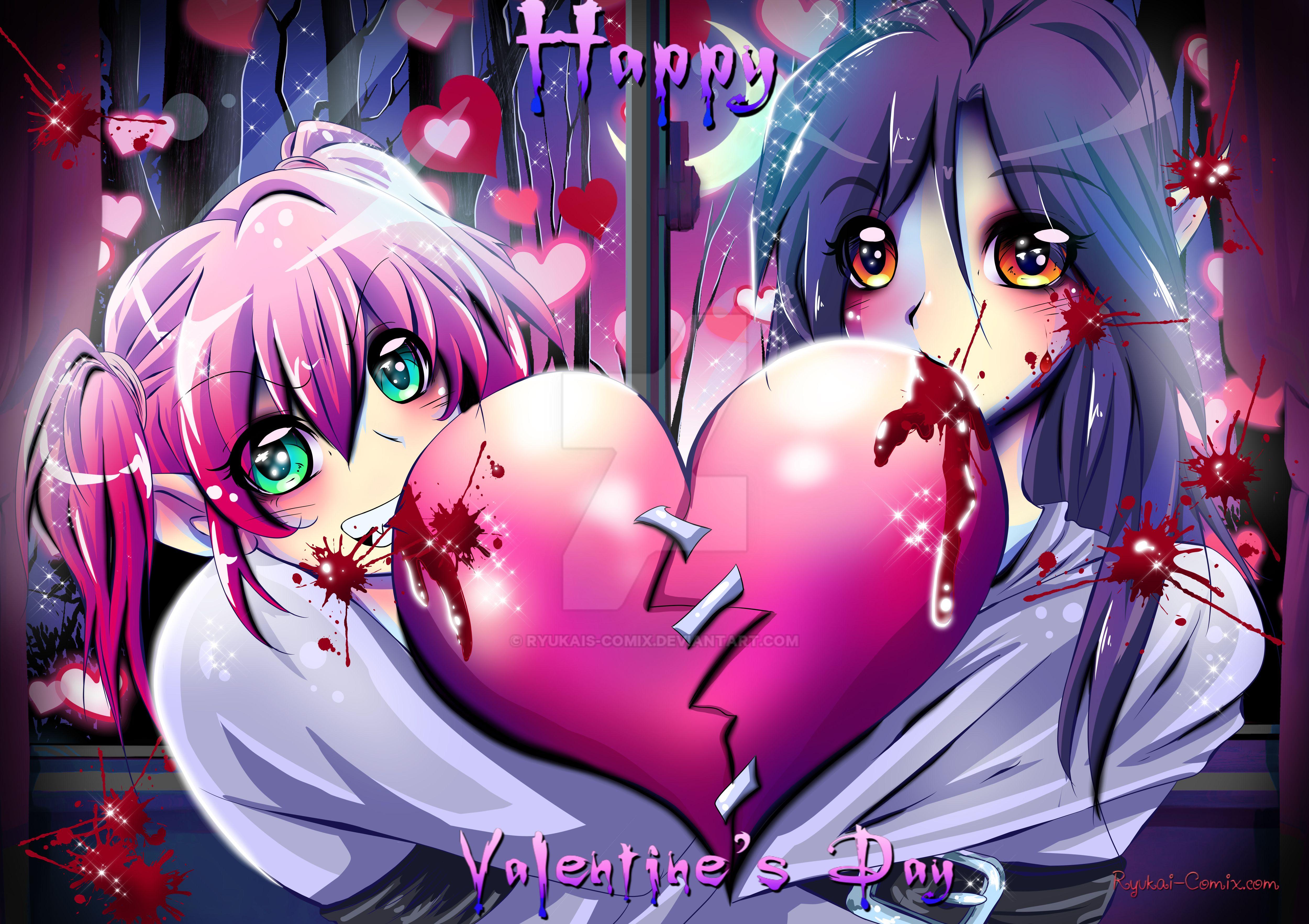 Happy valentines day! by RyuKais-Comix