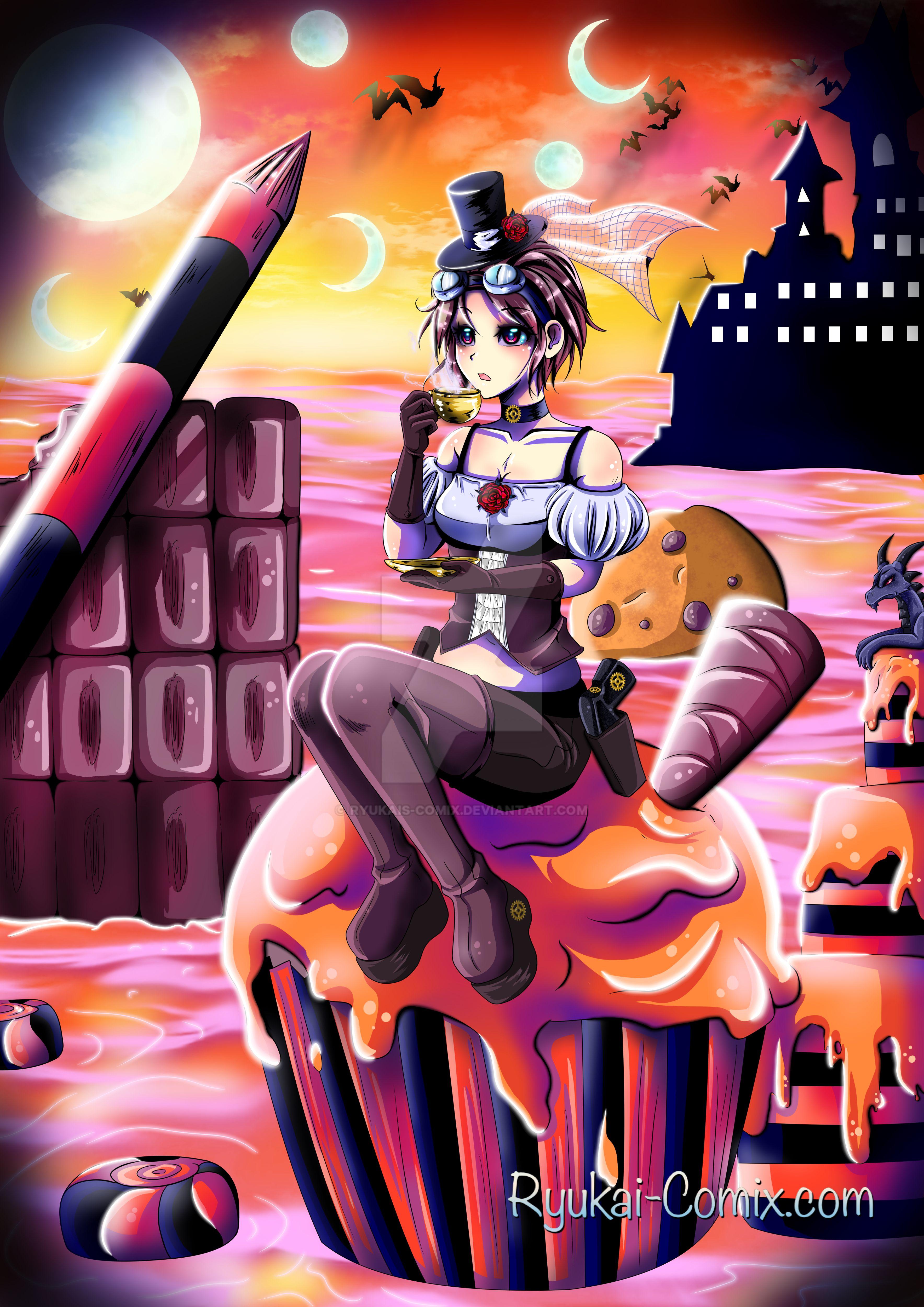 Cupcake apocalypse by RyuKais-Comix