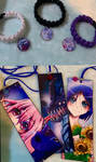 New bookmarks and bracelets on Etsy!