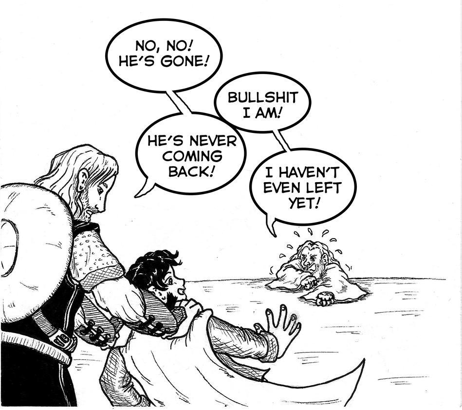 Nostalgia Critic's Gandalf part 1 by CaranVeSereg