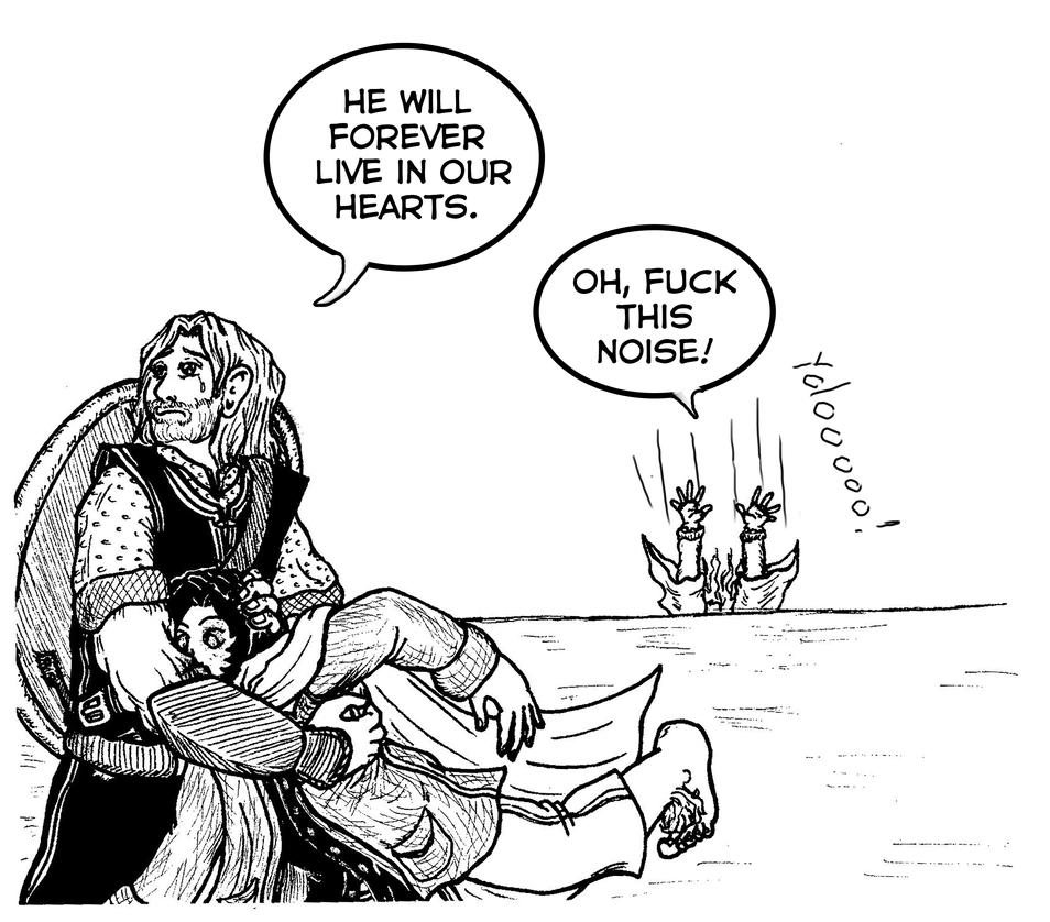 Nostalgia Critic's Gandalf part 4 by CaranVeSereg