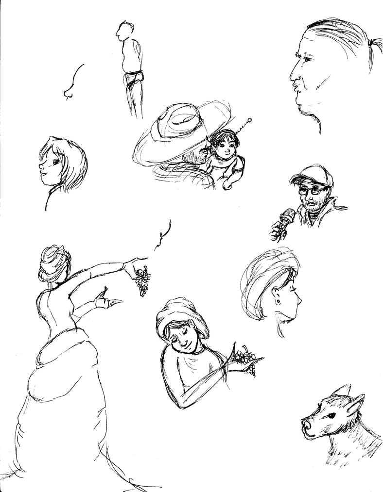 Real Life Sketches by CaranVeSereg