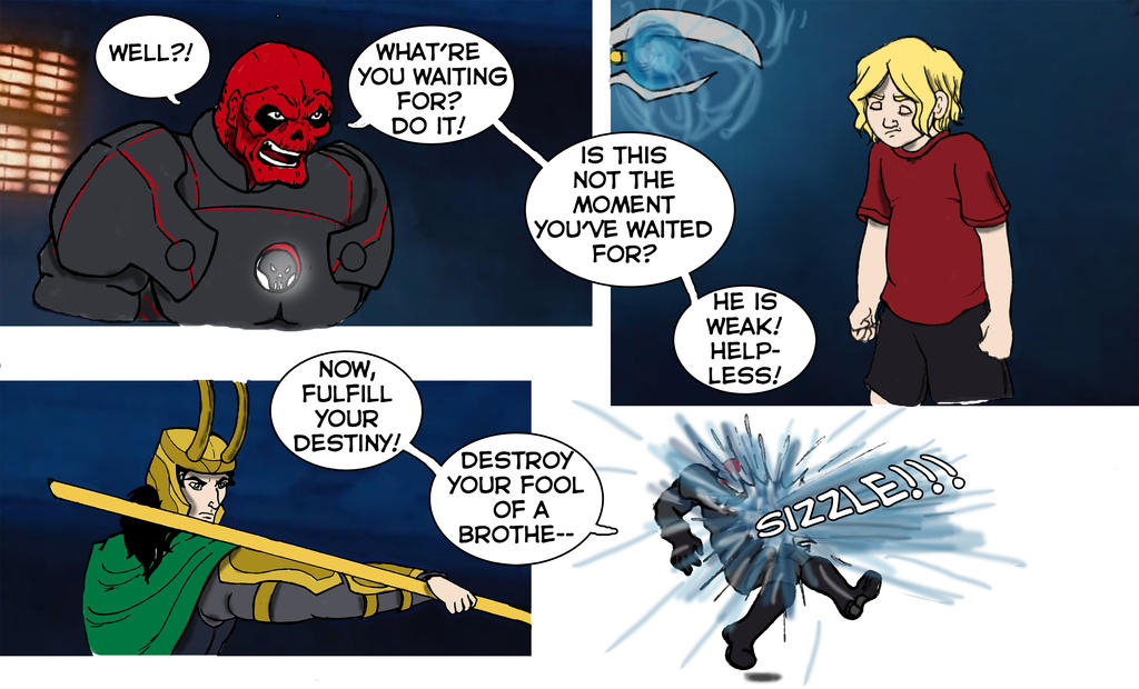 Avengers Assemble Brother Part 3 by CaranVeSereg
