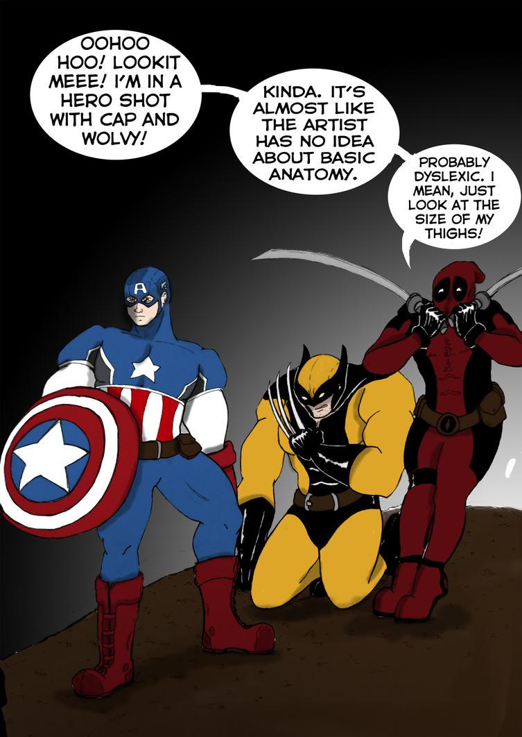 Deadpool Attempt by CaranVeSereg