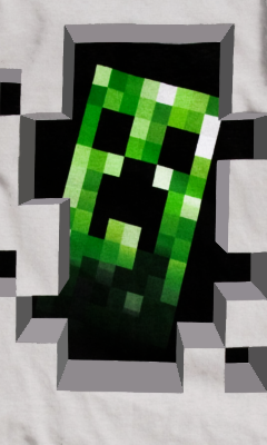 Creeper phone wallpaper by thegrzelu on deviantart creeper phone wallpaper by thegrzelu voltagebd Choice Image