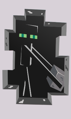 Enderman Wallpaper by TheGrzelu