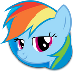 Rainbow Dash Skype Icon