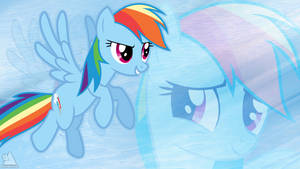 Rainbow Dash Wallpaper 1 by BigMemoire