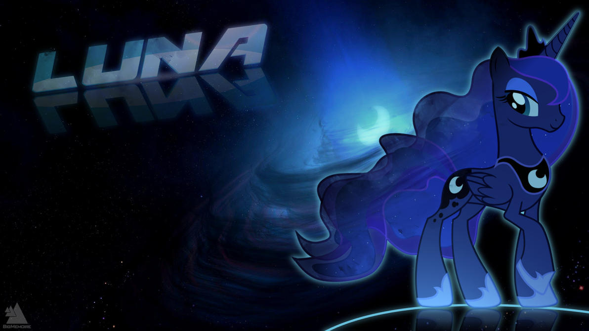 Princess Luna Wallpaper 1 by BigMemoire