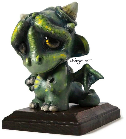 Dragon Munny by Jelayer