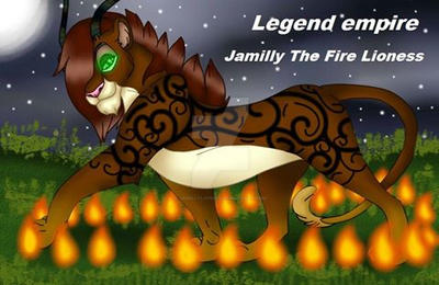 Jamilly The Fire Lioness by JamillyLioness on DeviantArt